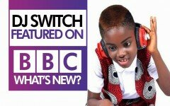 [Video]: Ghana's young DJ switch featured on BBC's what's new show.