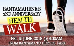 [Video]: Bantamahene's 2 yrs anniversary walk.