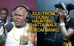 [Video]: Juju from Dubai hunting Shatta Wale - Bukom Banku.