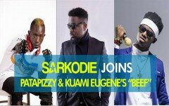 [Video] : Sarkodie joins Patapaa, Kwami Eugene
