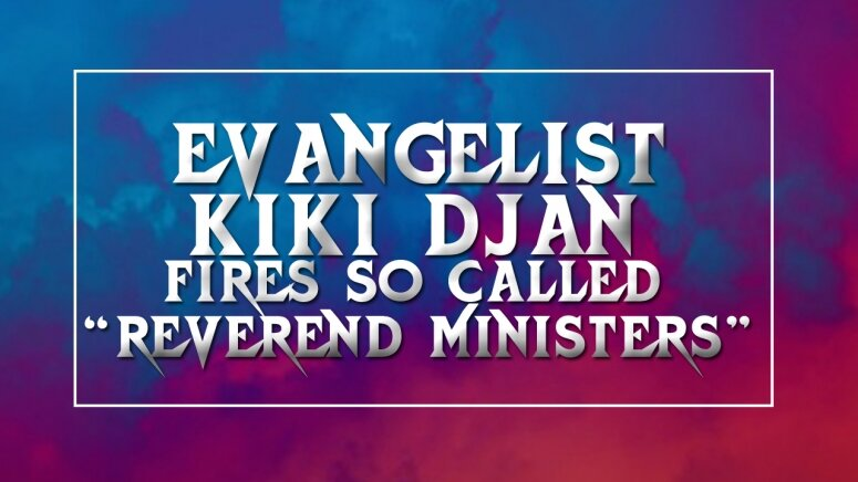 [Video]: Calling yourself Reverend is non biblical- Evg. Kiki Djan.